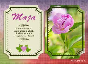 Życzenia dla Mai