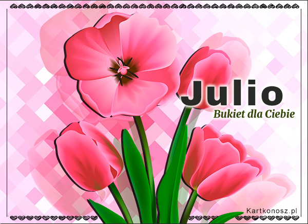 Bukiet dla Julii