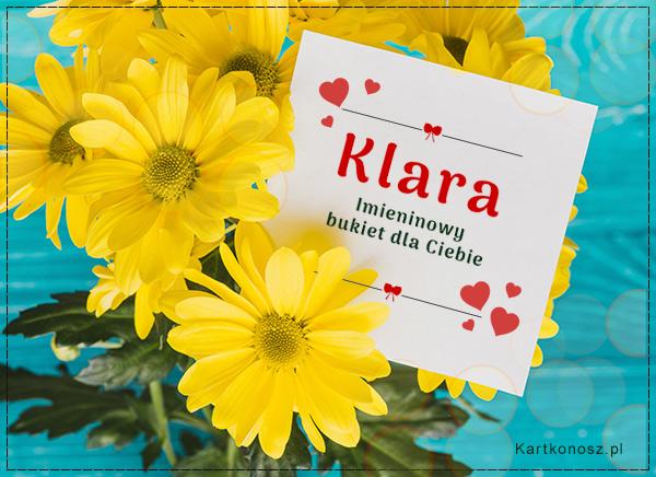 Bukiet dla Klary