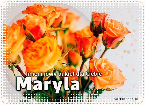 Bukiet dla Maryli