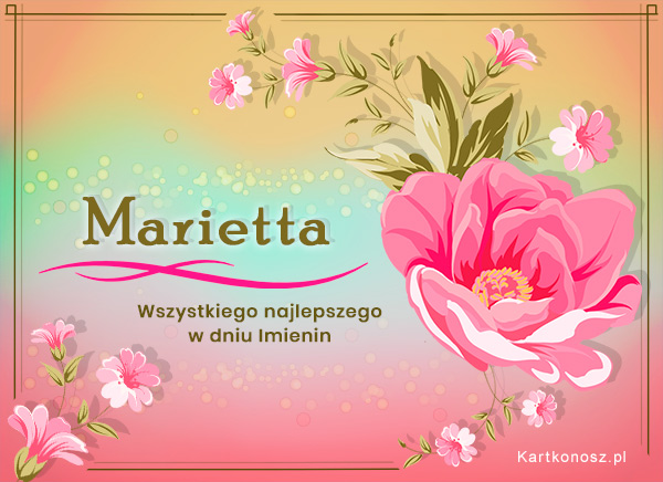 Dla Marietty