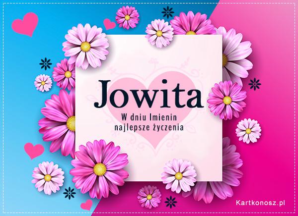 Kartka dla Jowity