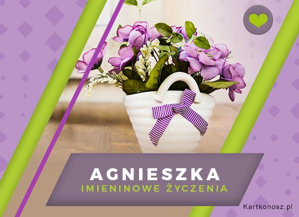 Kwiaty dla Agnieszki