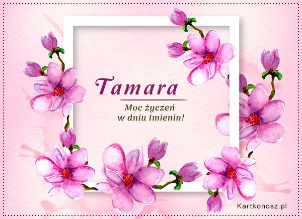 Moc życzeń dla Tamary
