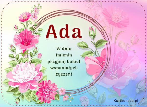 Życzenia dla Ady