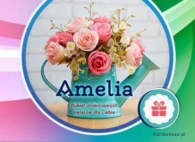Amelia - Kartka Imieninowa