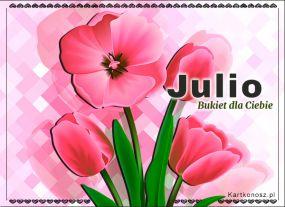eKartki Imieniny Bukiet dla Julii,