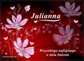 eKartki Imieniny Dla Julianny,