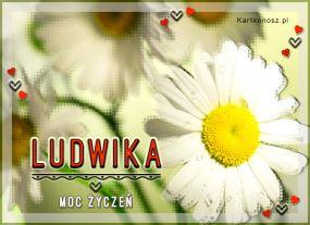 eKartki Imieniny Dla Ludwiki,
