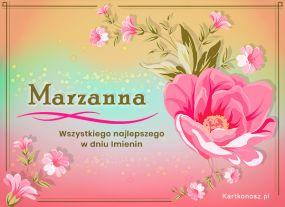 eKartki Imieniny Dla Marzanny,