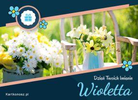 eKartki Imieniny Dla Wioletty,