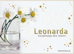 Dzień Imienin Leonardy