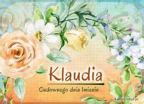 Imieniny Klaudii