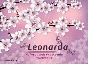 Imieniny Leonardy