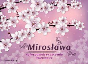 eKartki Imieniny Imieniny Mirosławy,