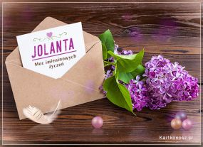 Jolanta, Jolka, Jolcia