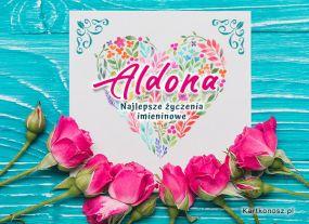 Kartka dla Aldony