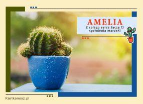 eKartki Imieniny Kartka dla Amelii,