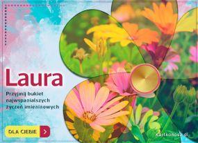 Kartka dla Laury