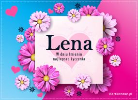 Kartka dla Leny
