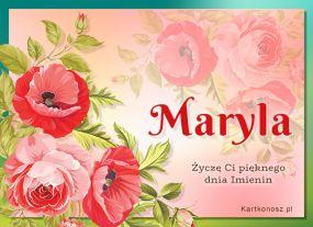 Kartka dla Maryli