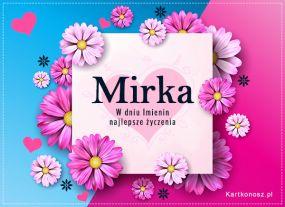 Kartka dla Mirki