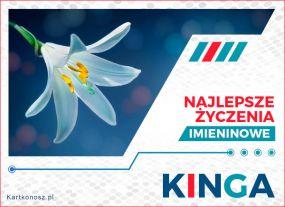 Kinga - Kartka Imieninowa
