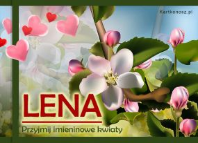 Kwiaty dla Leny