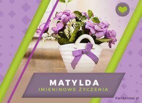 Kwiaty dla Matyldy