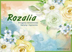 Kwiaty dla Rozalii