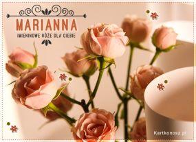 Marianna - Kartka Imieninowa