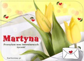 Martyna - Kartka Imieninowa