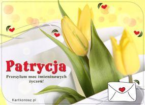 Patrycja - Kartka Imieninowa
