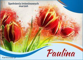 eKartki Imieniny Paulina - Kartka Imieninowa,