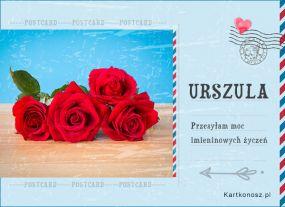 Pocztówka dla Urszuli