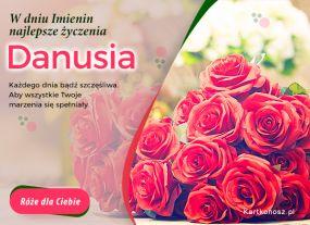 Róże dla Danusi