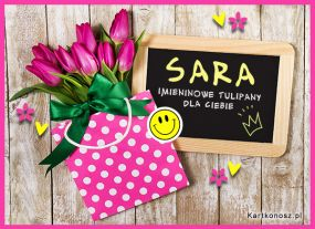 Tulipany dla Sary