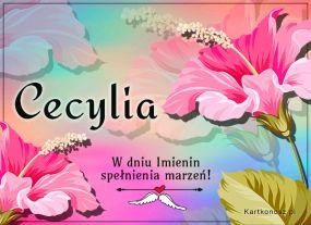 W dniu Imienin Cecylii
