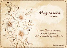 W dniu Imienin Magdaleny