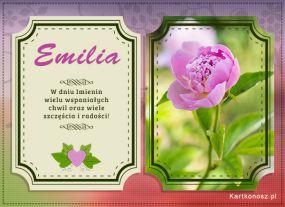 Życzenia dla Emilii