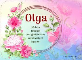 Życzenia dla Olgi