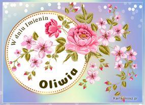 Życzenia dla Oliwii