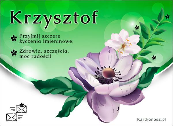 Dla Krzysztofa