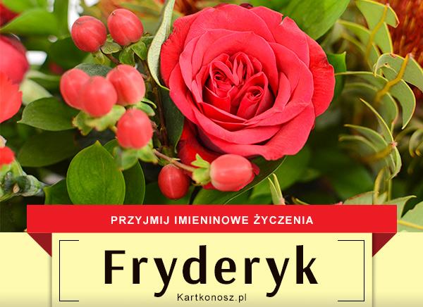 Fryderyk - Kartka Imieninowa