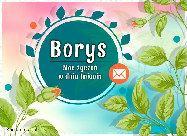 Moc życzeń dla Borysa