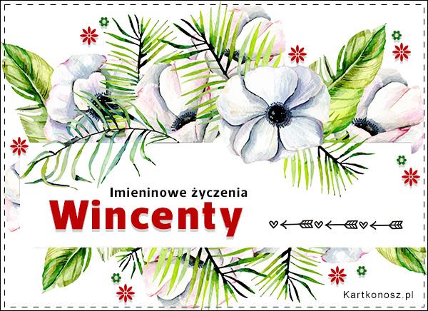 Moc życzeń dla Wincentego