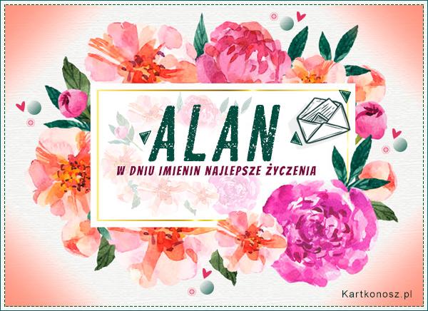 Poczta kwiatowa dla Alana
