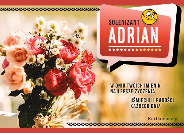 Solenizant Adrian