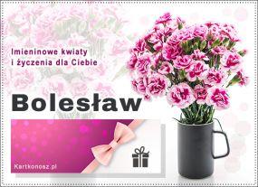 eKartki Imieniny Bukiet dla Bolesława,