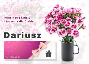 Bukiet dla Dariusza